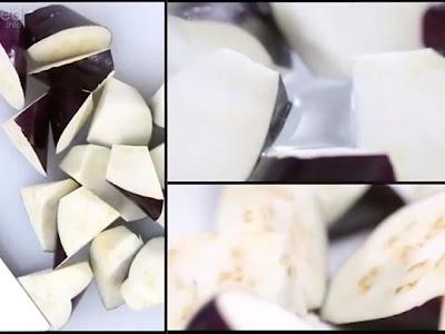 ☀ Mẹo để cà tím luôn trắng không bị thâm đen ☁