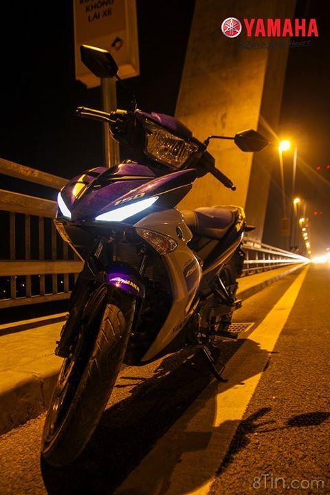 """Exciter 150 """"thả dáng"""" :P Mời các #Yamaha fan khoe ảnh vẻ"""