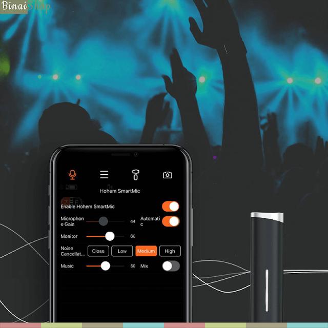 Hohem ISteady X Vlogger Kit - Gimbal Chống Rung Tích Hợp Micro Không Dây Cho Smartphone