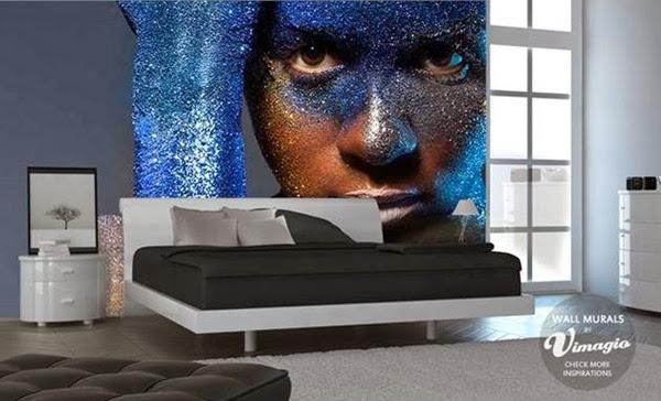 decoracion-con-papel-mural-efecto-3d
