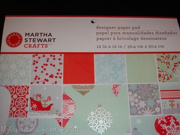 martha stewart paper