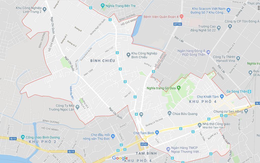 Bán nhà cấp 4 đường Lê Thị Hoa Quận Thủ Đức, diện tích 40 m2, giá 2,12 tỷ