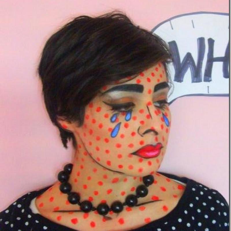 ideas para hacer un maquillaje pop art para disfraz