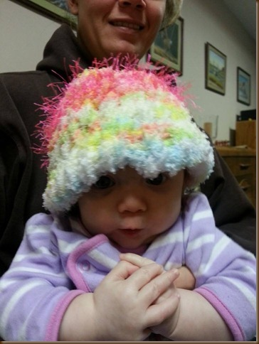 Lora in her new hat2