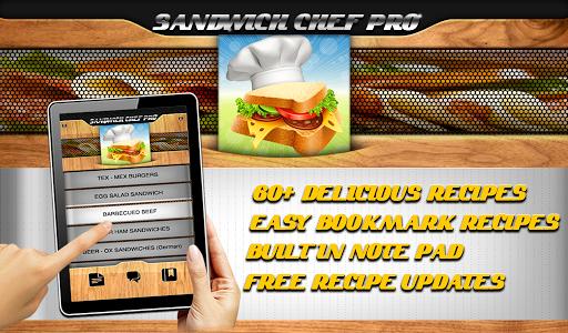 FREE Sandwich Recipes Chef Pro