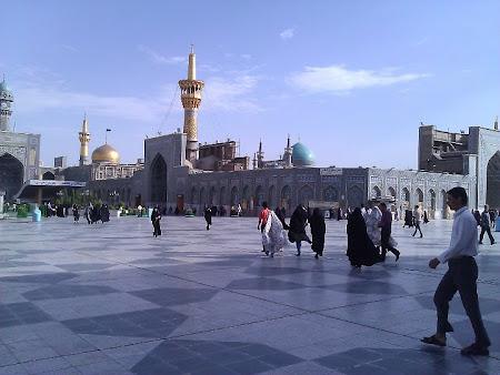 Fotografii Iran: Mausoleul Imam Reza Mashad