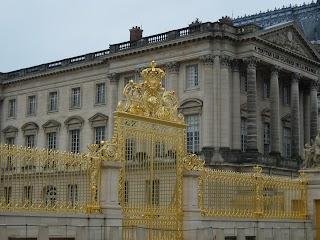 Grille de la Cour Royale au Château de Versailles