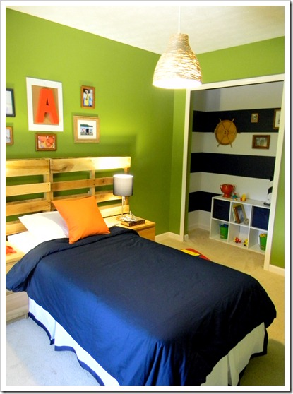 Green Big Boy Room