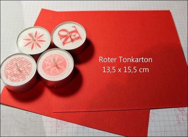 Teelichter Verpackung Schachtel Nikolaus Weihnachten Box selbstgemacht