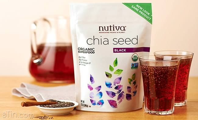 Hạt Chia Nutiva Organic Chia Seed Của Mỹ (907gr)
