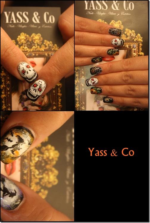 diseño de uñas Halloween de Yass & Co.
