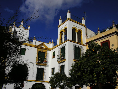 Imagini Andaluzia: Santa Cruz Sevilla