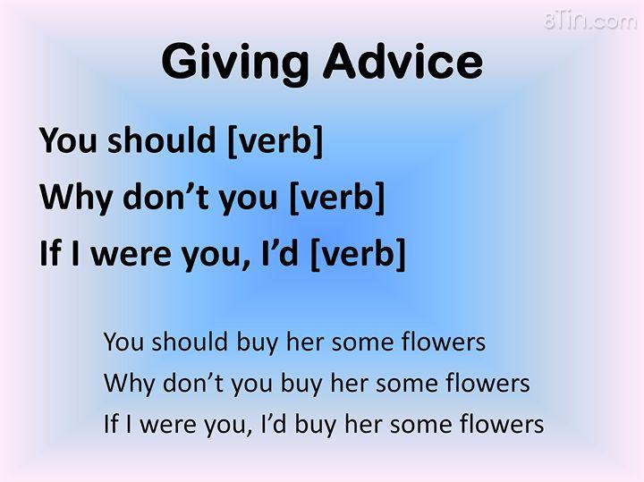 Những cách đơn giản nhất để đưa lời khuyên. ^^