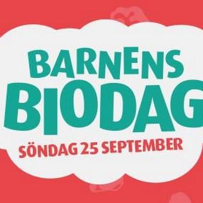Trevlig Helg Kom ihåg att på söndag är det Barnens Biodag på