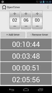 OpenTimer - screenshot thumbnail