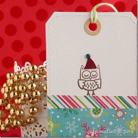 cafecreativo - Christmas owl tag - Natale - gufo (2)