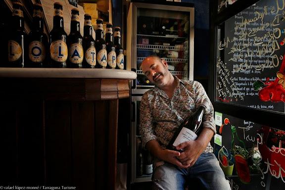 David Amorós, cuiner i propietari del restaurant Lola Tapes.Tarragona, Tarragonès, Tarragona