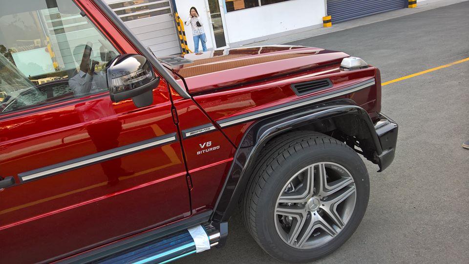 xe Mercedes Benz G63 AMG All New màu đỏ 06