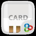 WHITECARD GO Launcher Theme icon