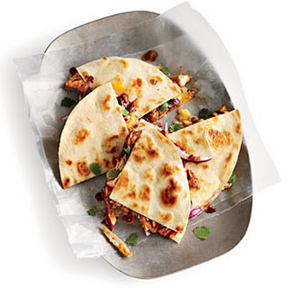 Kickin' BBQ Chicken Quesadilla