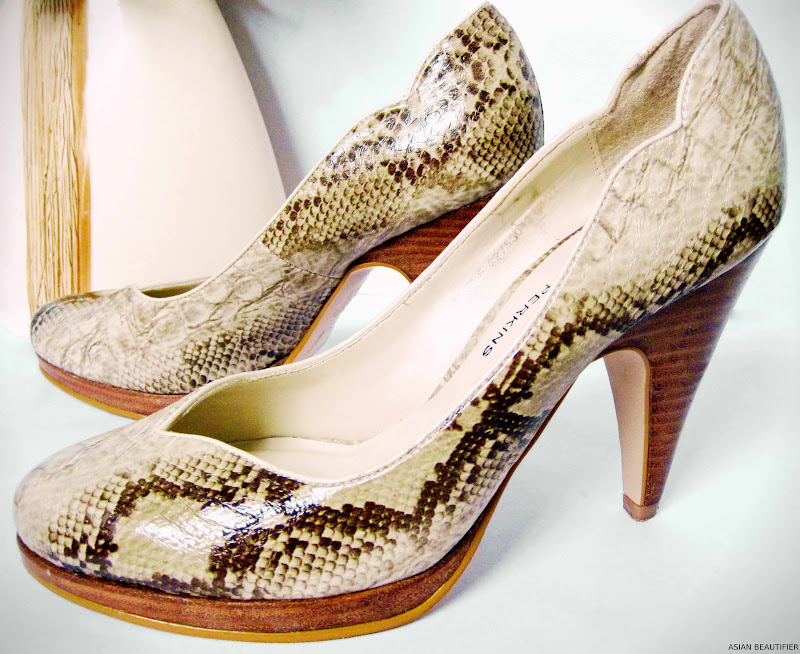 Dorothy Perkins Snakeskin Court shoes