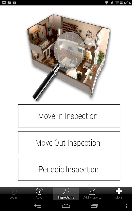Property Inspection 4 Tablets - screenshot