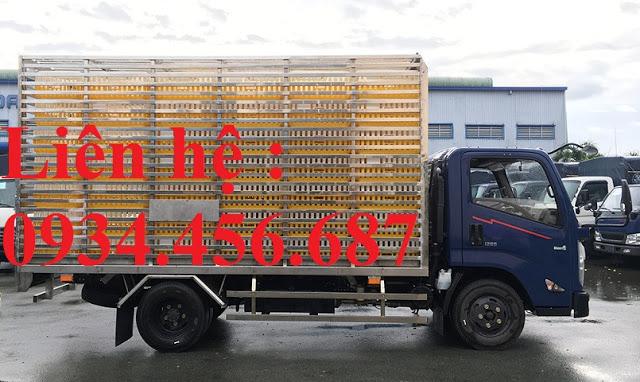 Xe chở gà vịt 3,5 tấn IZ65 Đô Thành