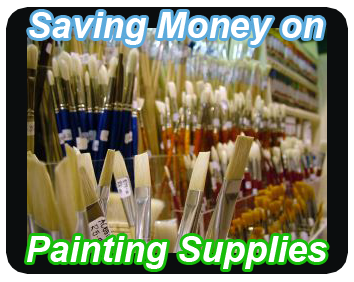 save money painting supplies