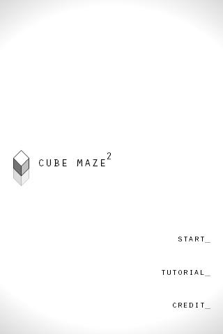 Cube Maze 2- screenshot