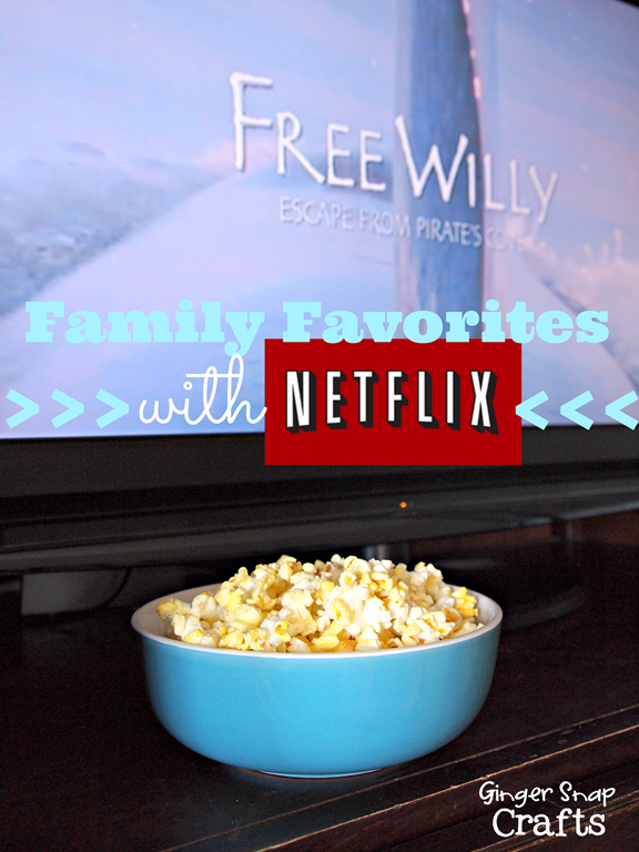 Family Favorites on Netflix #NetflixFamilies