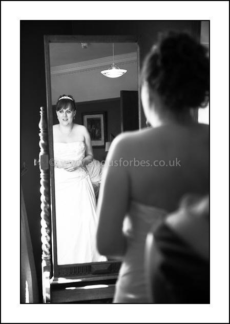bridal room scottish castle wedding