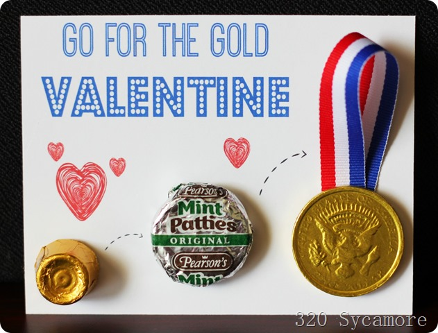 go for the gold valetnine color