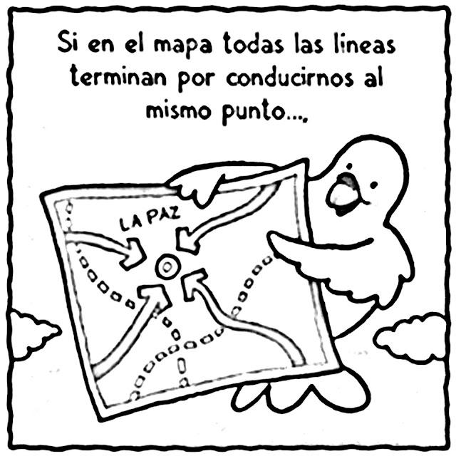 PINTAR EL LIBRO DE LA PAZ