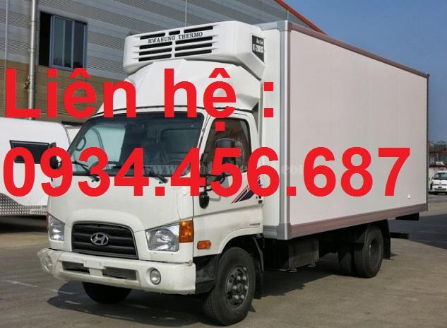 Bán xe tải Hyundai 75s thùng đông lạnh 3.5 tấn
