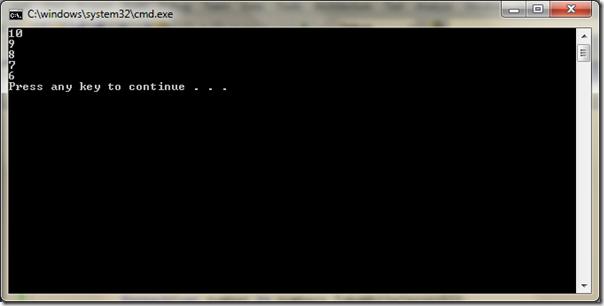 Take while operator in C#