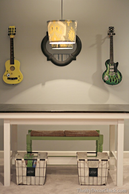 basement craft table
