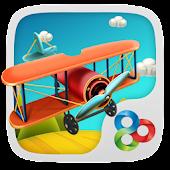 Plane GO Launcher Theme