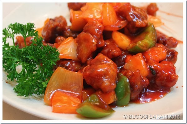 SWEET & SOUR PORK, LUCKY INN AT SUNNYBANK © BUSOG! SARAP! 2014
