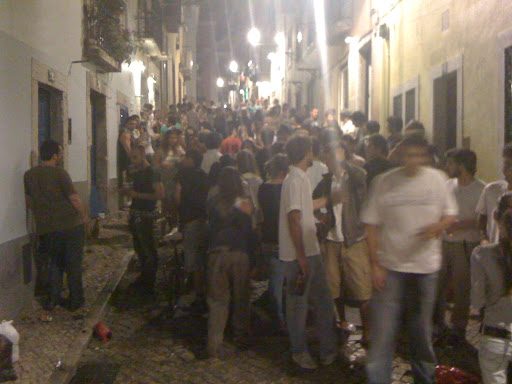 Crowd in Madrid streets