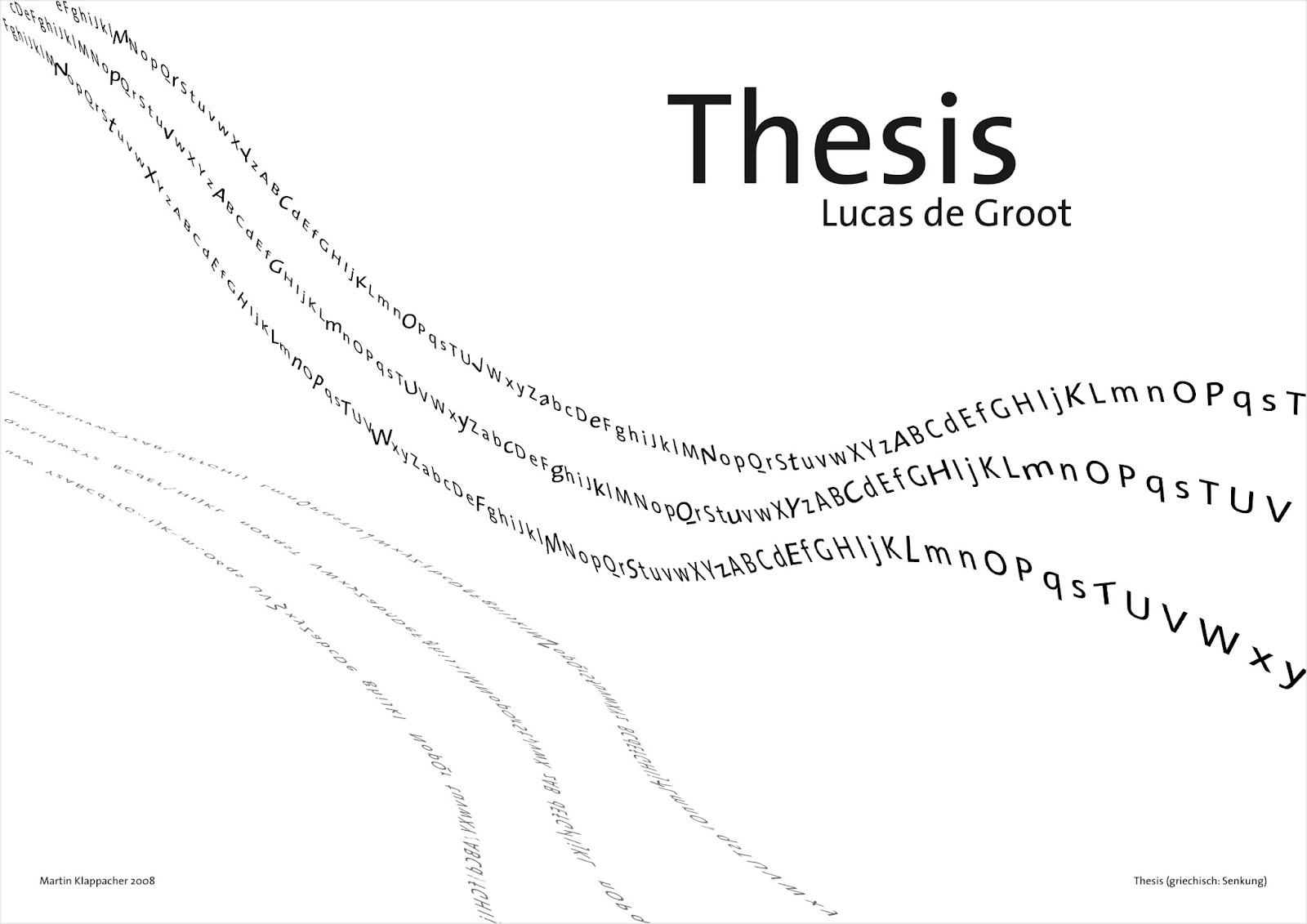 Thesis Free Font