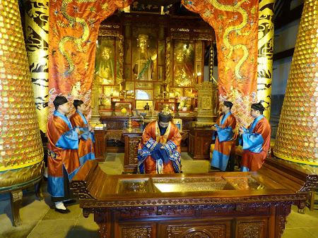 Taoism China: ceremonie taoista
