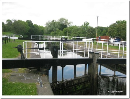 Lock 17 on the Forth & Clyde canal.