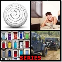 SERIES- 4 Pics 1 Word Answers 3 Letters