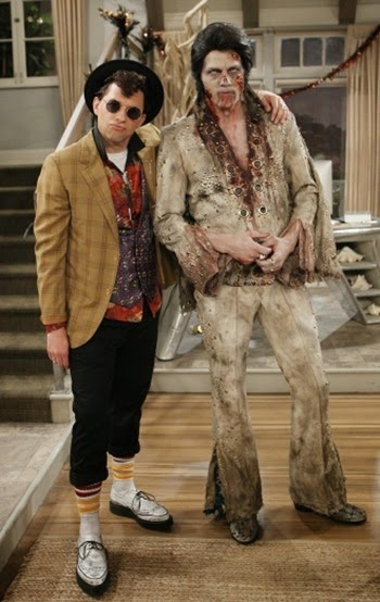 Especial de Haloween en Two and a Half Men - Temporada 12