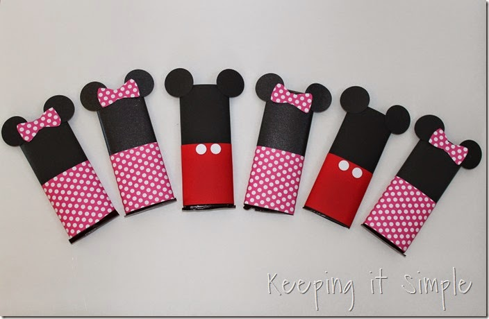 Mickey and Minnie Mouse Candy Bar Valentines  (6)