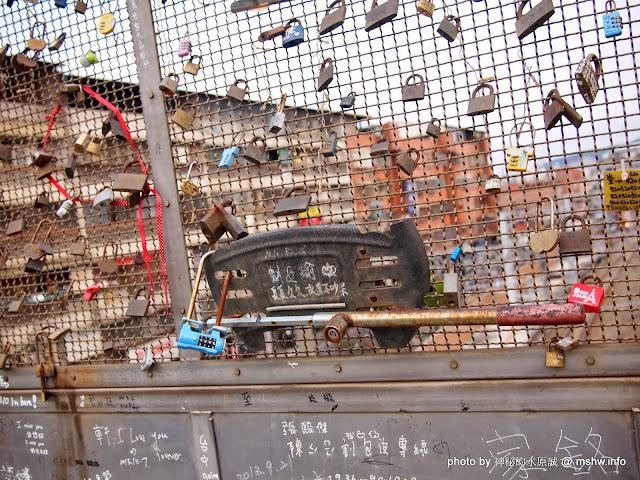 【景點】台中許願鐵鎖橋&心鎖橋@捷運TRA豐原車站 : 特別的鎖給特別的妳...妳讓我越來越不相信自己 區域 台中市 捷運周邊 旅行 景點 豐原區