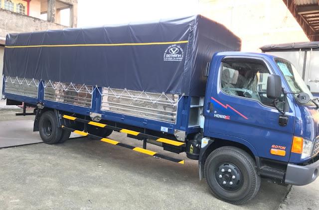 Hyundai HD120sl được nâng tải từ xe 3,5 tấn thùng kéo dài