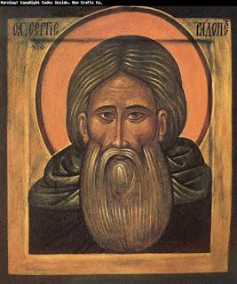 25 Tháng Chín: Thánh Sergius vùng Moscow