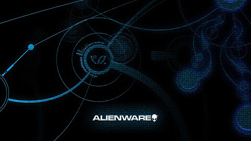 Alienware Blue Skin Design