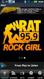 WRAT 95.9 The Rat Player - screenshot thumbnail